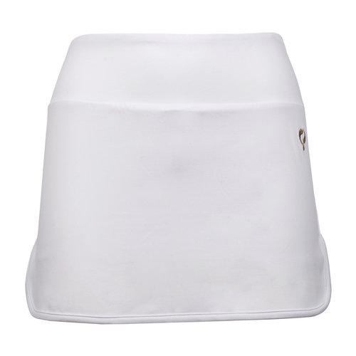 Dames Q skirt Wenen - White