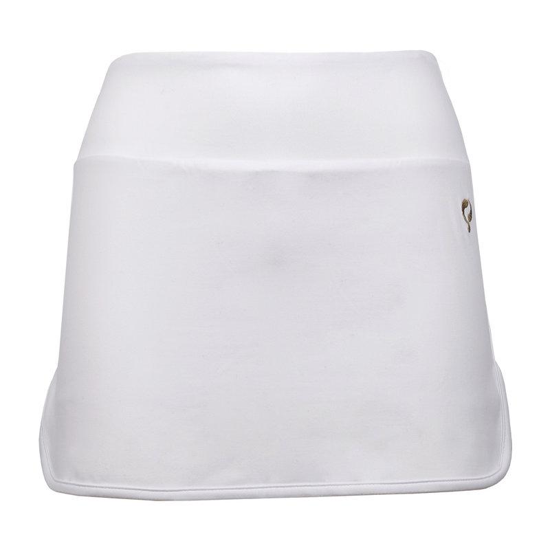 Q1905 Dames Q skirt Wenen - White