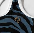 Q1905 Women's Q tanktop print Madrid - BG + Print BG/China Blue