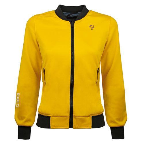Dames Q Reversible Jacket Melbourne W - Print BG/China Blue + Sulphur