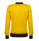 Q1905 Women's Q Reversible Jacket Melbourne W - Print BG/China Blue + Sulphur