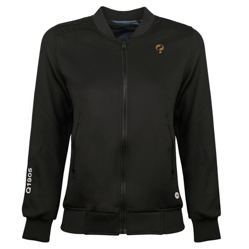 Dames Q Reversible Jacket Melbourne W - BG + Print BG/China Blue + Black