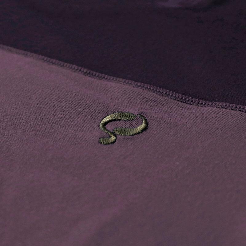 Q1905 Heren Q tee Rosmalen - Night Shade/Vintage Violet