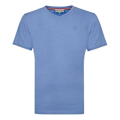 Heren T-shirt Zandvoort - Licht Denimblauw