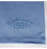 Q1905 Heren T-shirt Zandvoort - Licht Denimblauw