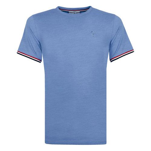 Men's T-shirt Katwijk - Light Denimblue