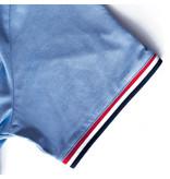 Q1905 Men's T-shirt Katwijk - Light Denimblue