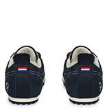 Q1905 Heren Sneaker Typhoon Sp  -  Denim Blauw/Wit