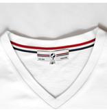 Q1905 Heren T-shirt Rockanje - Wit