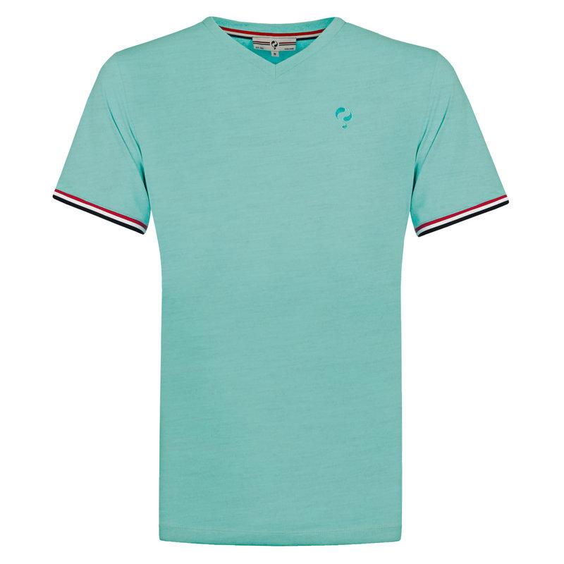 Q1905 Men's T-shirt Rockanje - Aqua