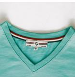 Q1905 Heren T-shirt Rockanje - Aqua