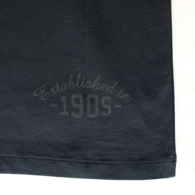 Q1905 Heren T-shirt Rockanje - Donker Denimblauw
