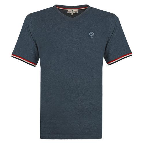 Heren T-shirt Rockanje - Donker Denimblauw