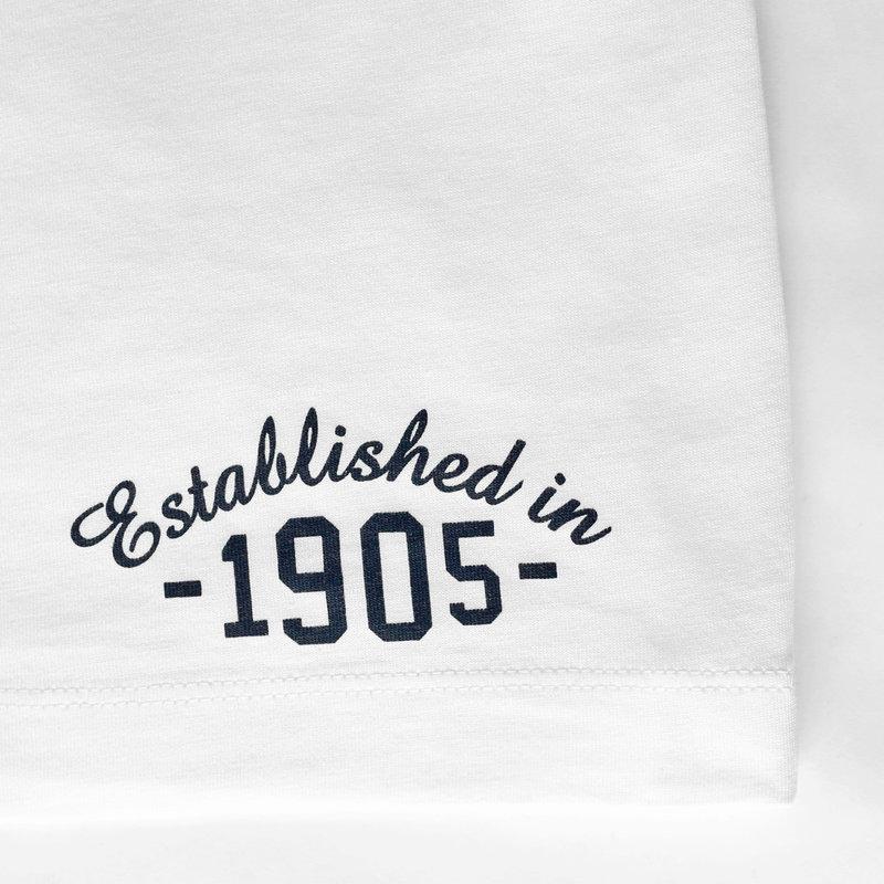 Q1905 Men's T-shirt Bergen - White