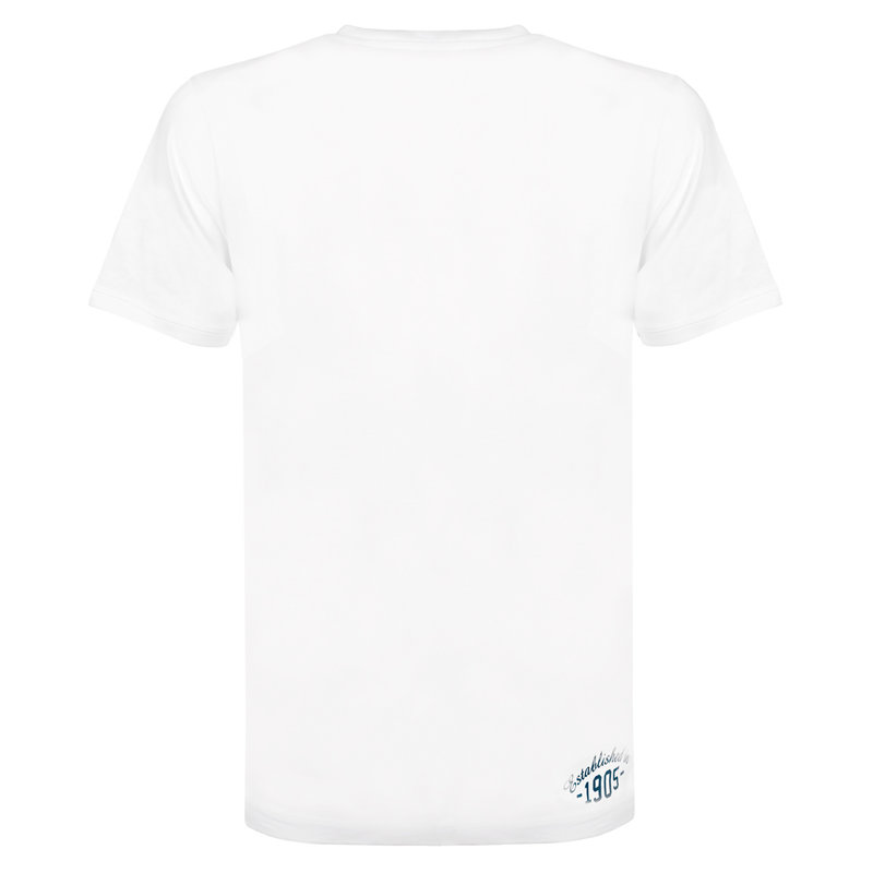Q1905 Heren T-shirt Bergen - Wit