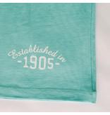 Q1905 Heren T-shirt Bergen - Aqua