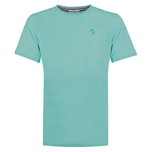 Heren T-shirt Bergen - Aqua