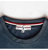 Q1905 Heren T-shirt Bergen - Donker Denimblauw