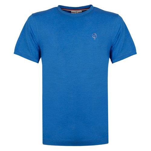 Heren T-shirt Bergen - Koningsblauw