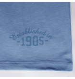 Q1905 Heren T-shirt Bergen - Licht Denimblauw