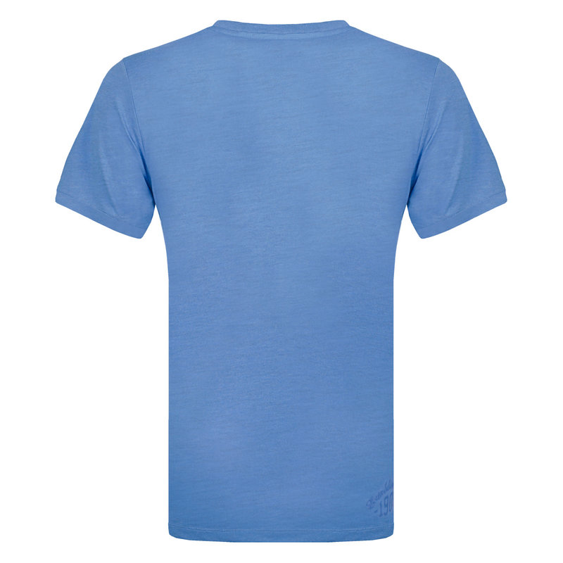 Q1905 Men's T-shirt Bergen - Light Denim Blue