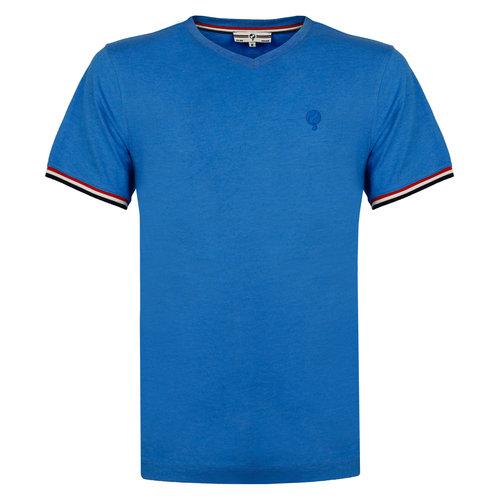 Heren T-shirt Rockanje - Koningsblauw