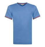 Q1905 Men's T-shirt Rockanje - Light Denim Blue