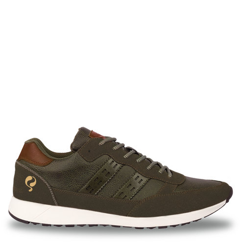 Heren Sneaker Voorschoten - Legergroen