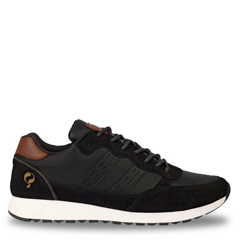 Q1905 Heren Sneaker Voorschoten - Zwart