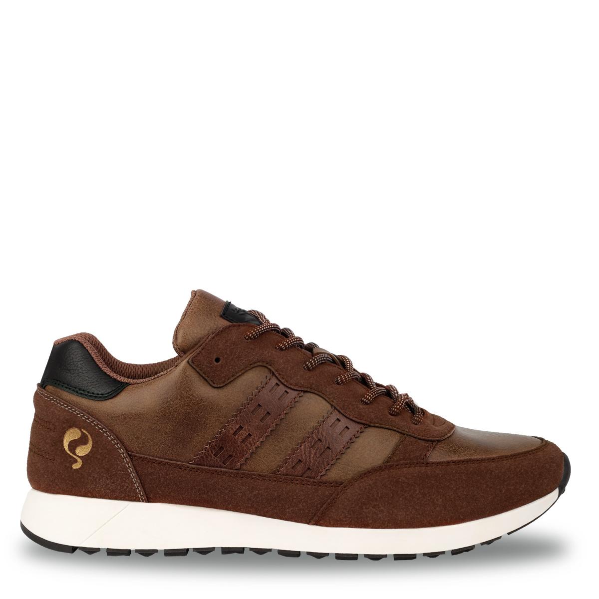 Heren Sneaker Voorschoten - Cognac