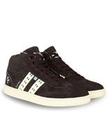 Q1905 Men's Sneaker Platina - Dark Brown/Crème