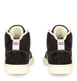 Q1905 Heren Sneaker Platina - Donkerbruin/Crème