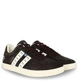 Q1905 Heren Sneaker Platinum - Donkerbruin/Crème