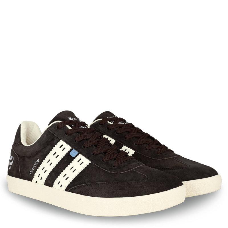 Q1905 Men's Sneaker Platinum - Dark Brown/Cream