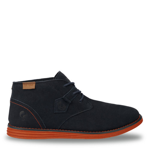 Men's Shoe Hillegersberg - Dark blue/Orange