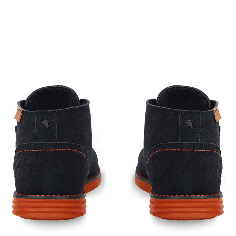 Q1905 Men's Shoe Hillegersberg - Dark blue/Orange