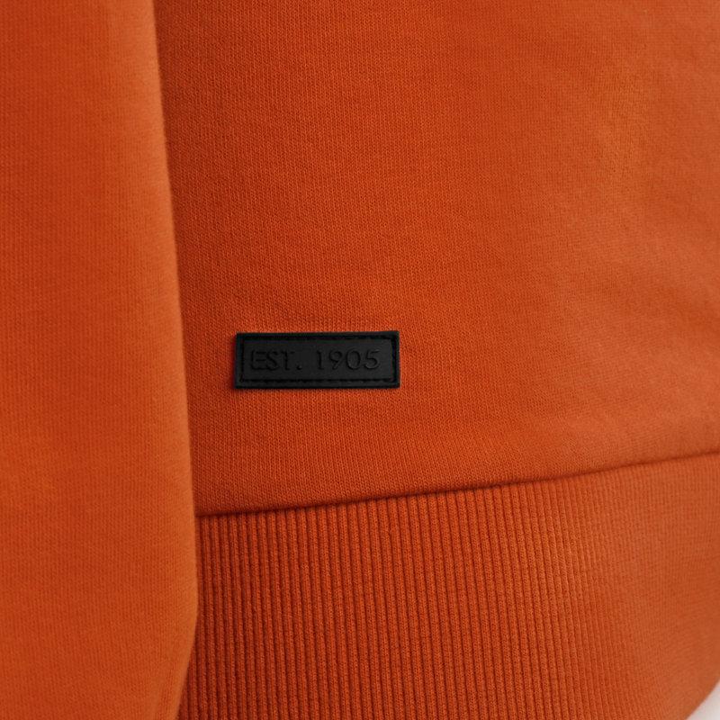 Q1905 Men's Pullover Zaandijk - Rust Orange