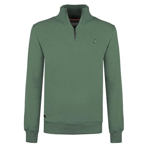 Men's Sweater Hoevelaken - Oase Green