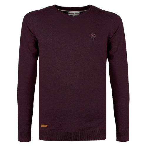 Men's Pullover Heemskerk - Wine Red