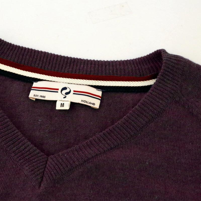 Q1905 Men's Pullover Heemskerk - Wine Red