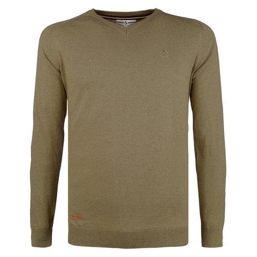 Men's Pullover Heemskerk - Khaki Green