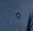 Q1905 Heren Trui Heemskerk - Denim blauw