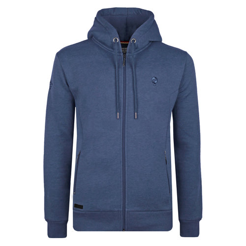 Heren Vest Groenewoud - Poederblauw