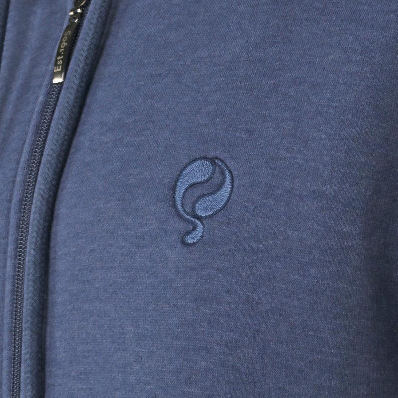 Q1905 Heren Vest Groenewoud - Poederblauw