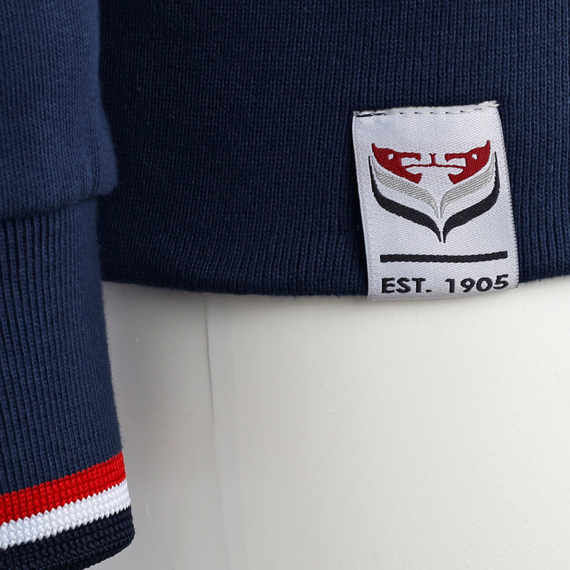 Q1905 Heren Vest Almere - Marine Blauw