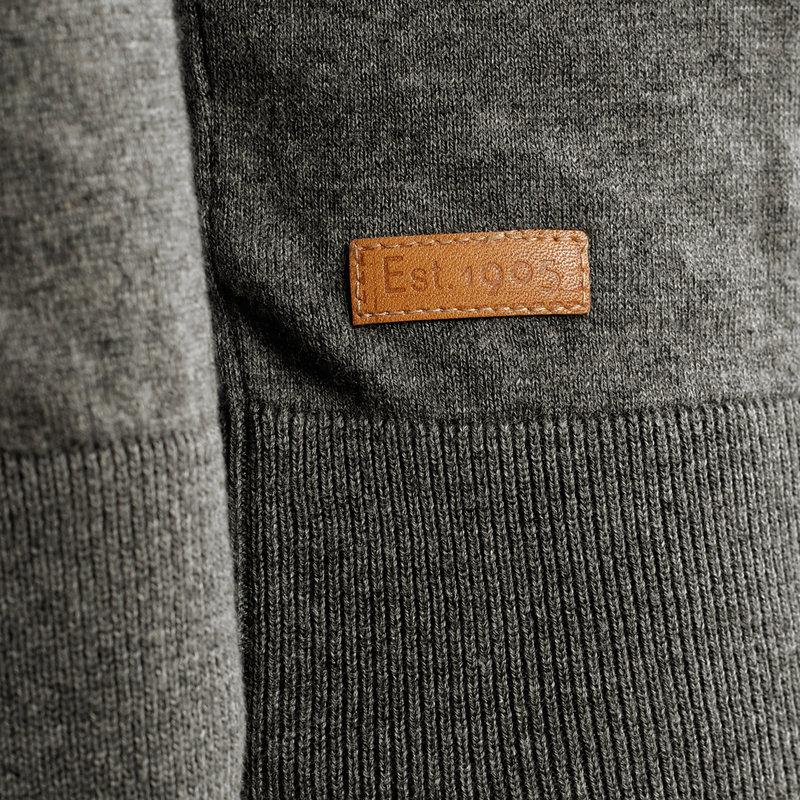 Q1905 Men's Pullover Kralingen - Grey