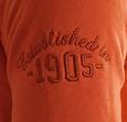 Q1905 Men's Pullover Ijmuiden - Rust Orange