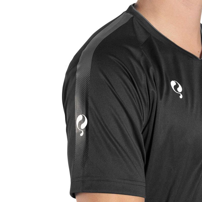 Q1905 Men's Trainingsshirt Maher - Black / Grey / White