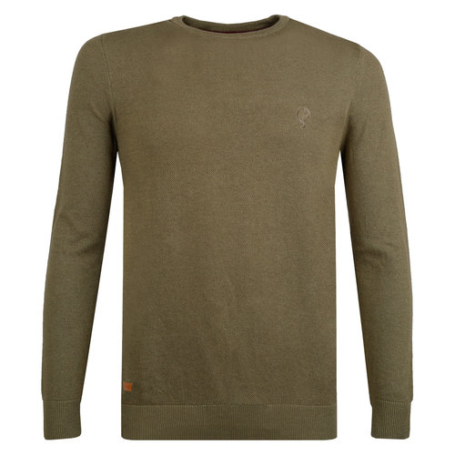 Men's Pullover Leusden - Khaki Green