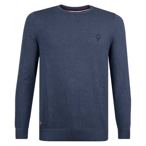Men's Pullover Leusden - Denim Blue